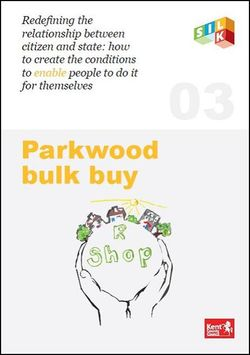 Parkwood Bulk Buy report